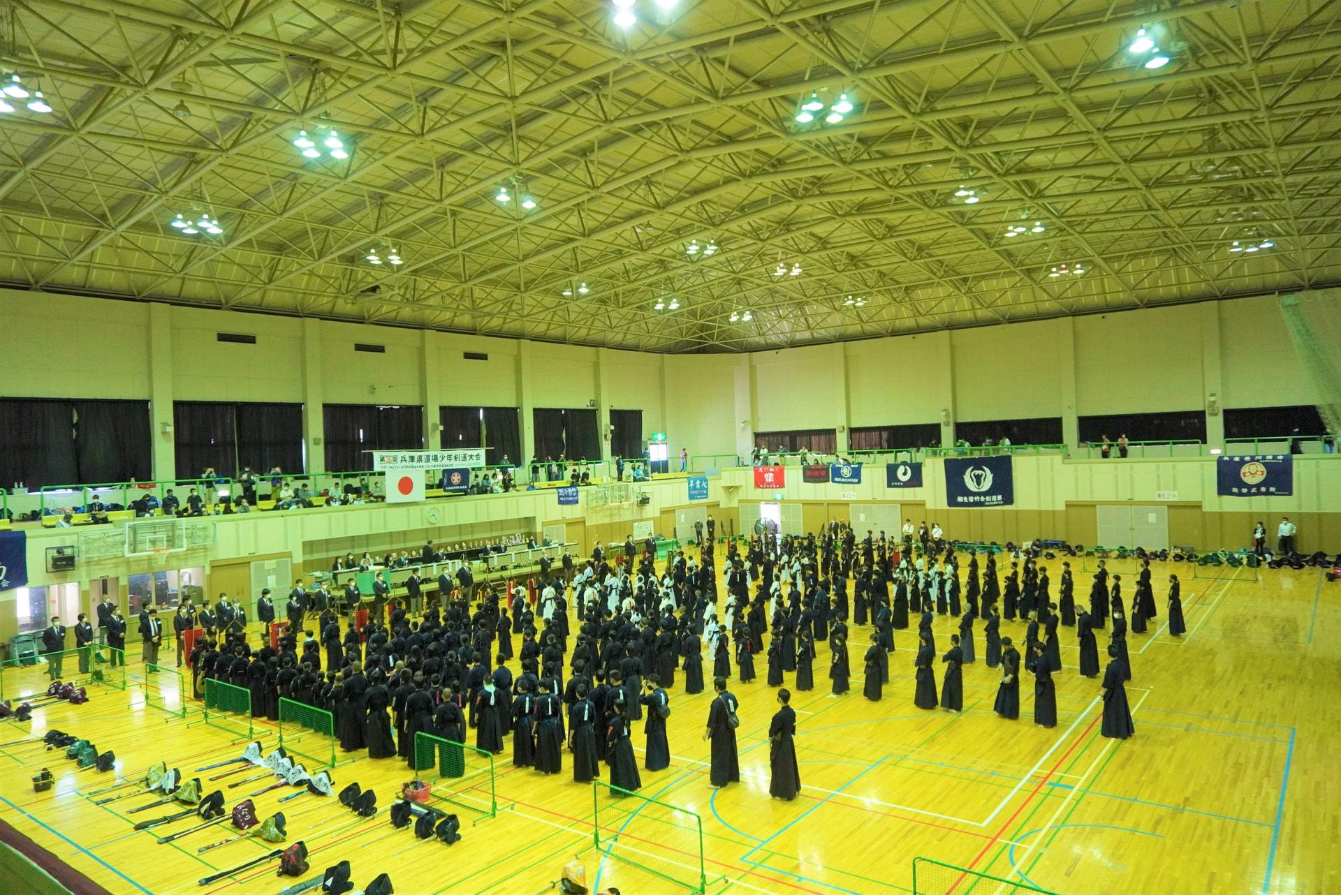第35回兵庫県道場少年剣道大会に参加しました。