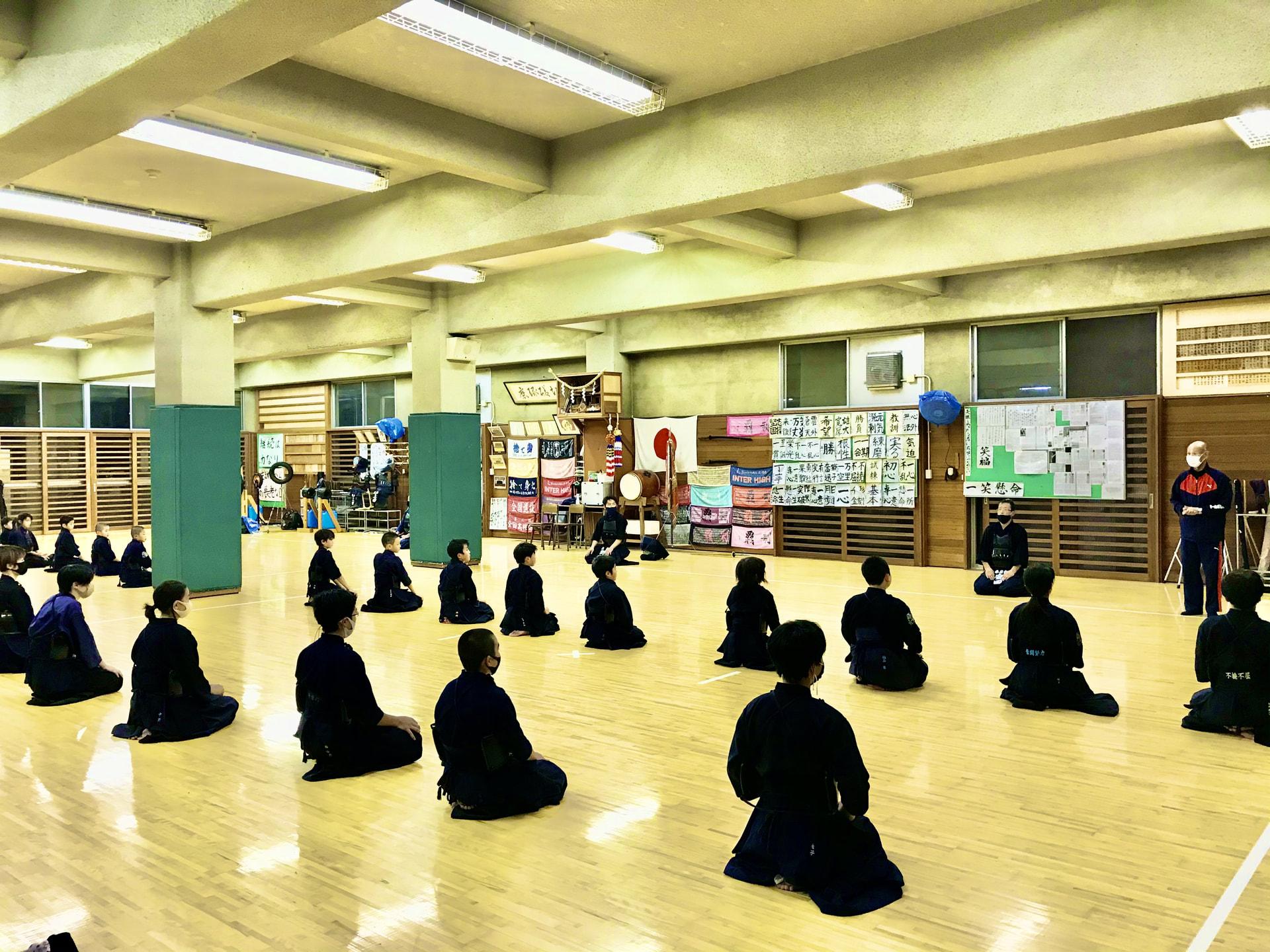 11月になっても、日々剣道がんばってます!!
