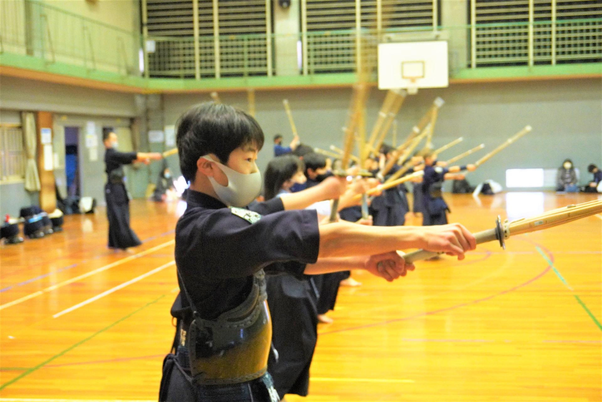 建国記念日。今日もみんなで剣道がんばりました!